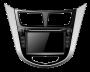 Штатная магнитола Hyundai Accent PMS F75107